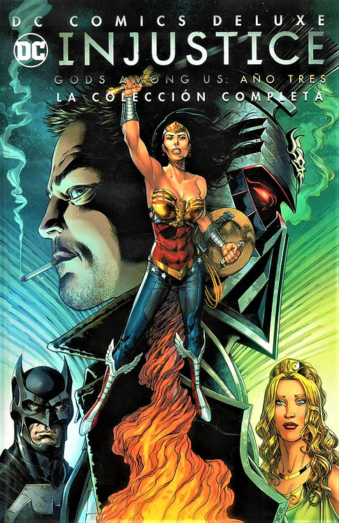 INJUSTICE GODS AMONG US: AÑO TRES