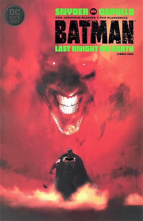 BATMAN LAST KNIGHT ON EARTH LIBRO UNO PV