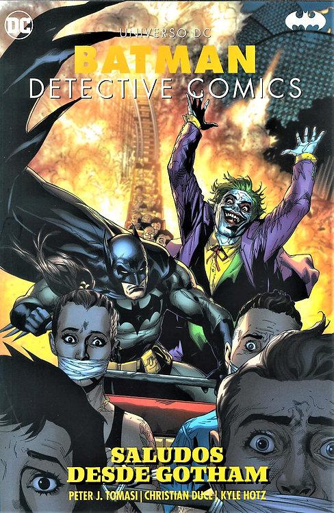 BATMAN DETECTIVE COMICS SALUDOS DESDE GOTHAM