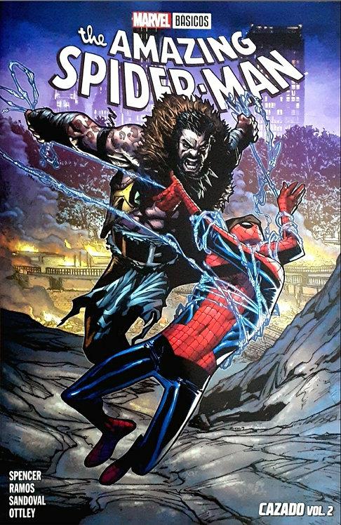 THE AMAZING SPIDER MAN CAZADO VOL 2