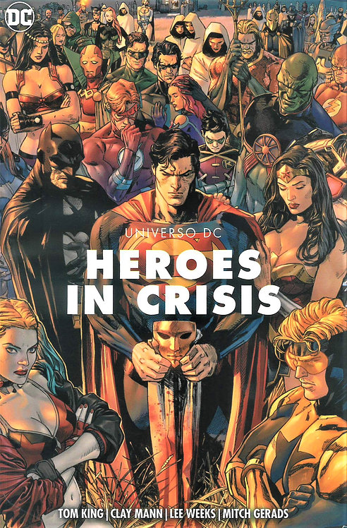 HEROES IN CRISIS UNIVERSO DC