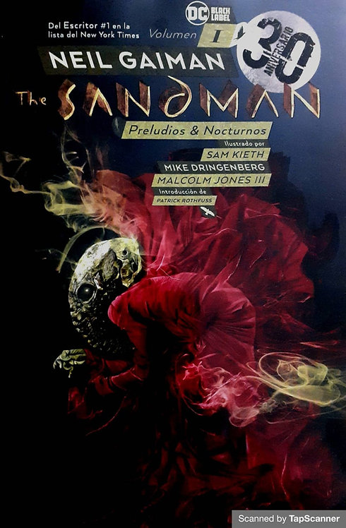 THE SANDMAN PRELUDIOS NOCTURNOS 30 ANIVERSARIO