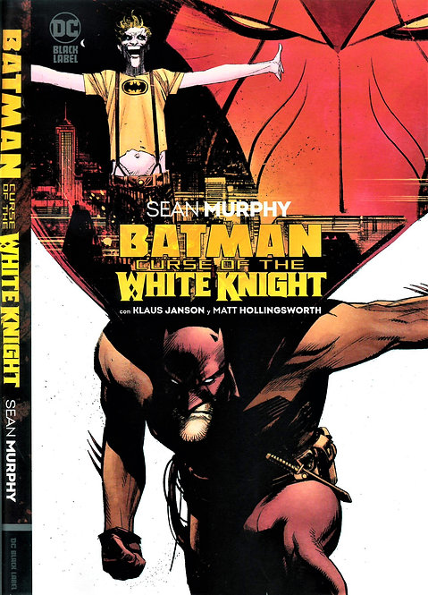 BATMAN CURSE OF THE WHITE KNIGHT DC BLACK LABEL