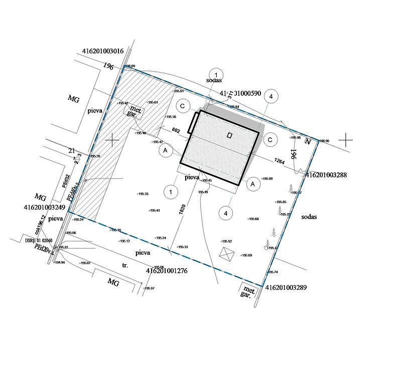 NPN 04 18 - Floor Plan - Sklypo planas (