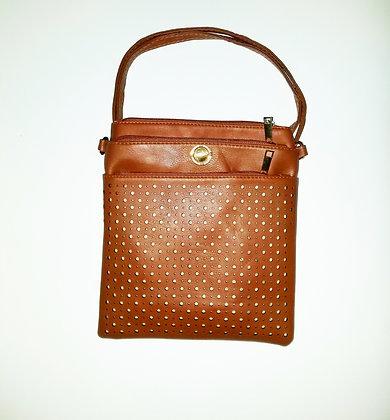 """Messenger Bag """"Royale"""" Unisex Brown"""