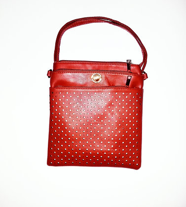 "Messenger Bag ""Royale"" Unisex Red"