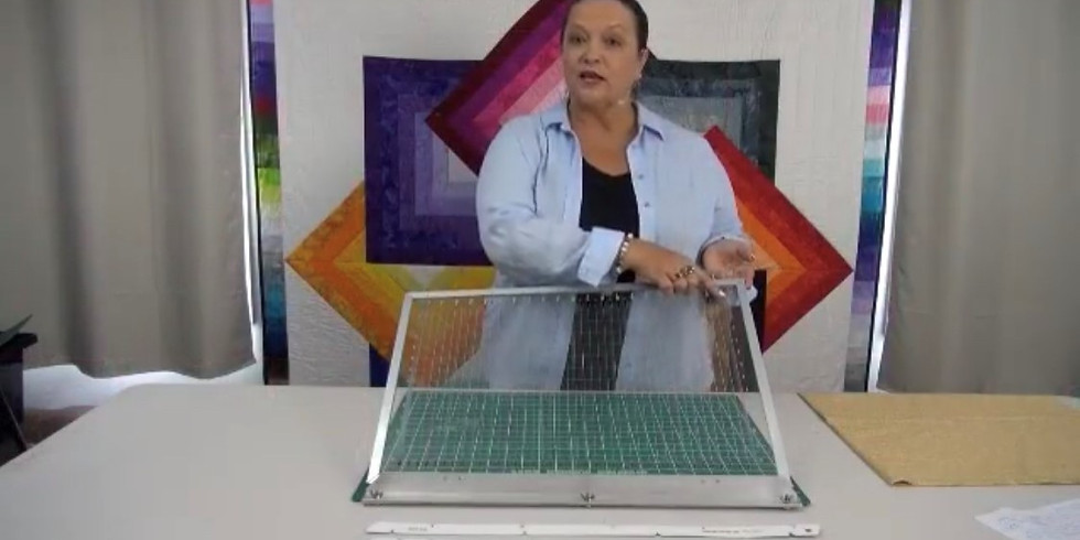 A demonstration by Aussie Quick Quilt.