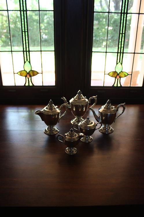 EPS Five Piece Tea and Coffee Set / Sir John Bennett