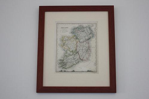 MAP OF IRELAND / J. DOWER