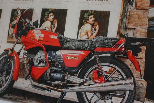 MOTOR GUZZI WITH CARRAVAGIO / ASHLEY JONES