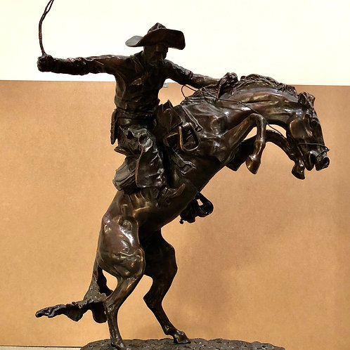 THE BRONCO BUSTER / Frederic Remington