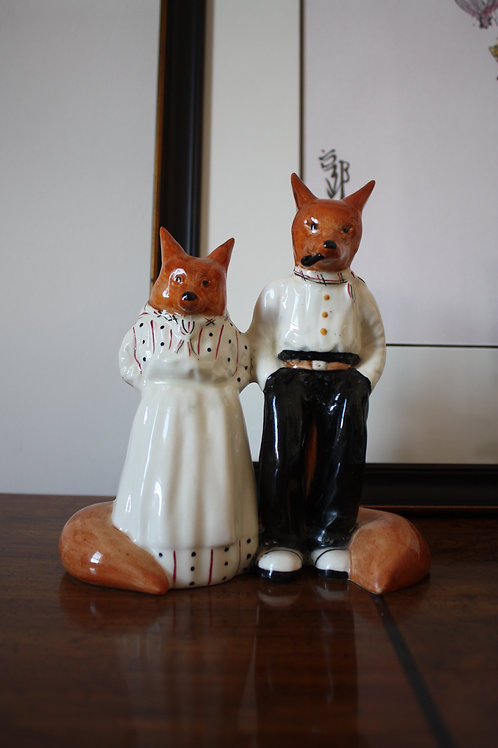 MR AND MRS FOX / BANCROFT AND BENNET