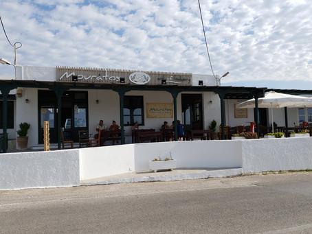 Místa na Milosu...Cukrárna a pekárna Mouratos