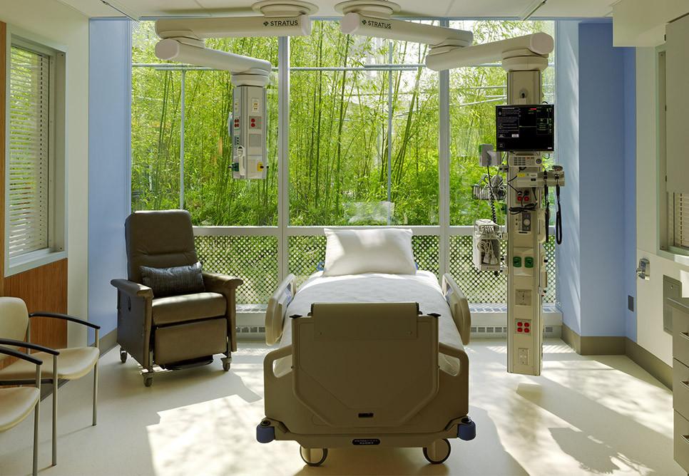 Paisagismo em Hospital