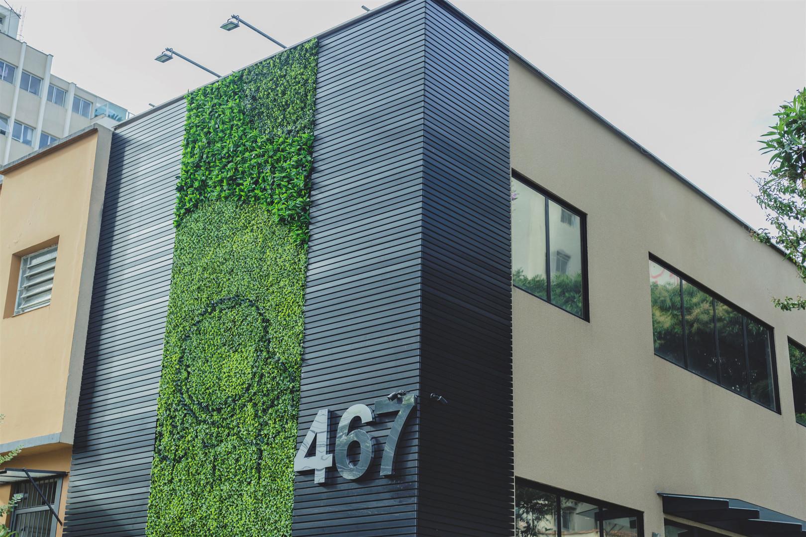 Jardim Vertical para Fachada Verde