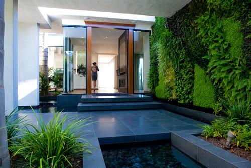 Ideias de Jardim Vertical Moderno
