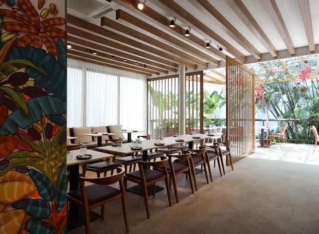 Paisagismo Restaurante Pipo - Vertical Garden