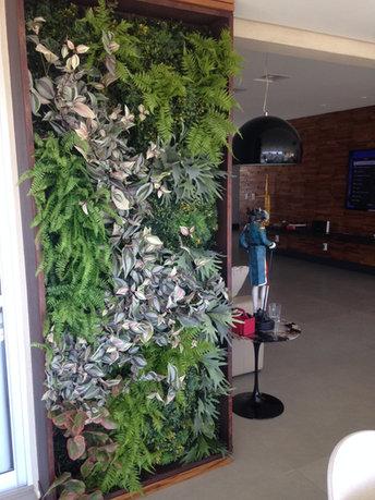 Painel de Jardim Vertical Artificial