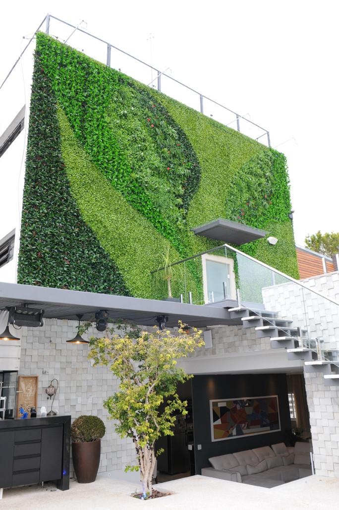 Jardim Vertical Artificial Externo