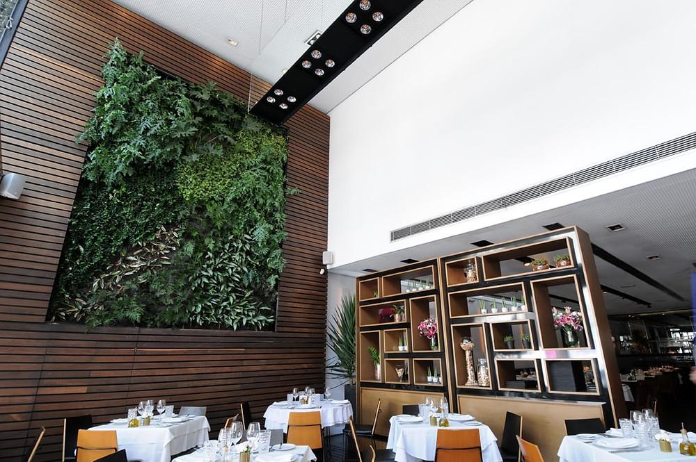 Painel Verde Restaurante Zucco