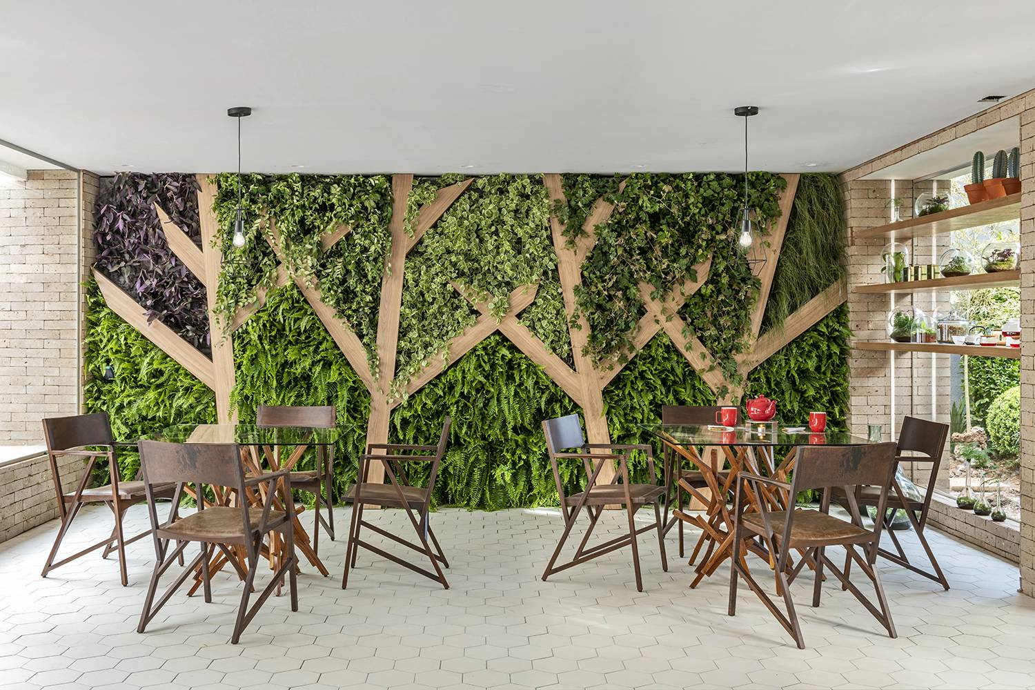 Vertical Gardening and Living Wall