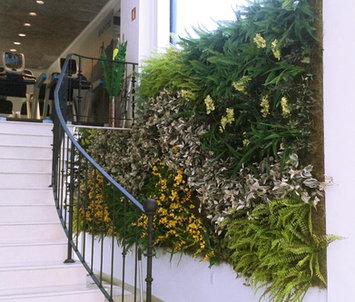 Jardim Vertical em Academia de São Paulo