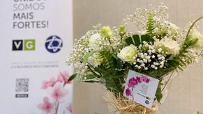 Vertical Garden doa 10 mil arranjos de plantas naturais ao hospital de campanha no Pacaembu