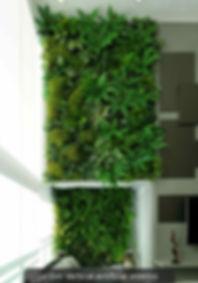 Jardim Vertical Artificial Interior Apartameto