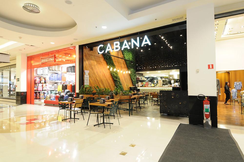 Arquitetura de Restaurante Cabana Burger