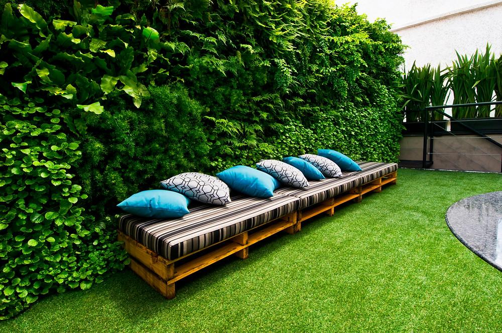 Benefícios dos Jardins Verticais