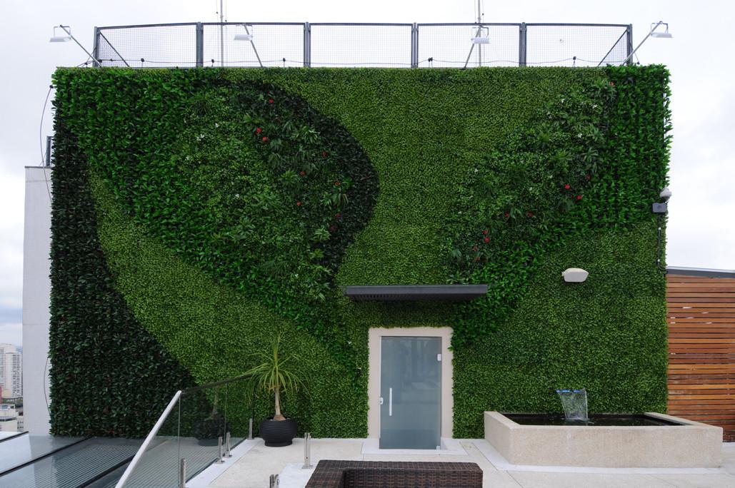 jardim vertical para fachada