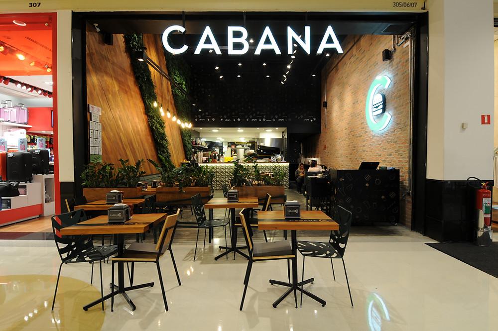 Jardim Vertical Cabana Burger
