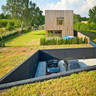 Telhado verde para trafego