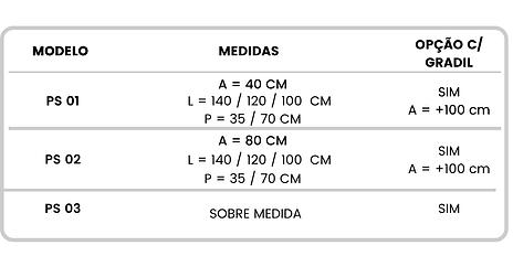 MEDIDAS PARA FLOREIRAS