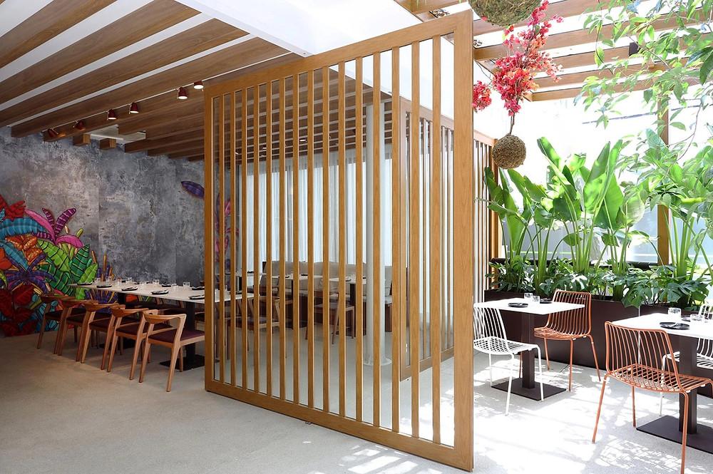 Paisagismo Biofilia Restaurante