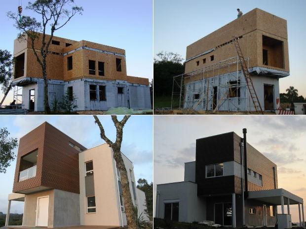 Casa de Tijolos exemplo de Arquitetura Sustentavel