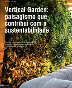 Paisagismo que contribui com a Sustentabilidade