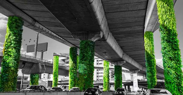 Climate Control, Via Verde Project, Vertical Gardens