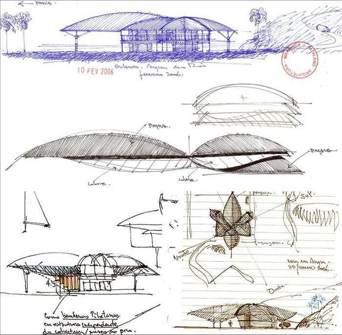 Croqui Projeto Arquitetura Sustentavel