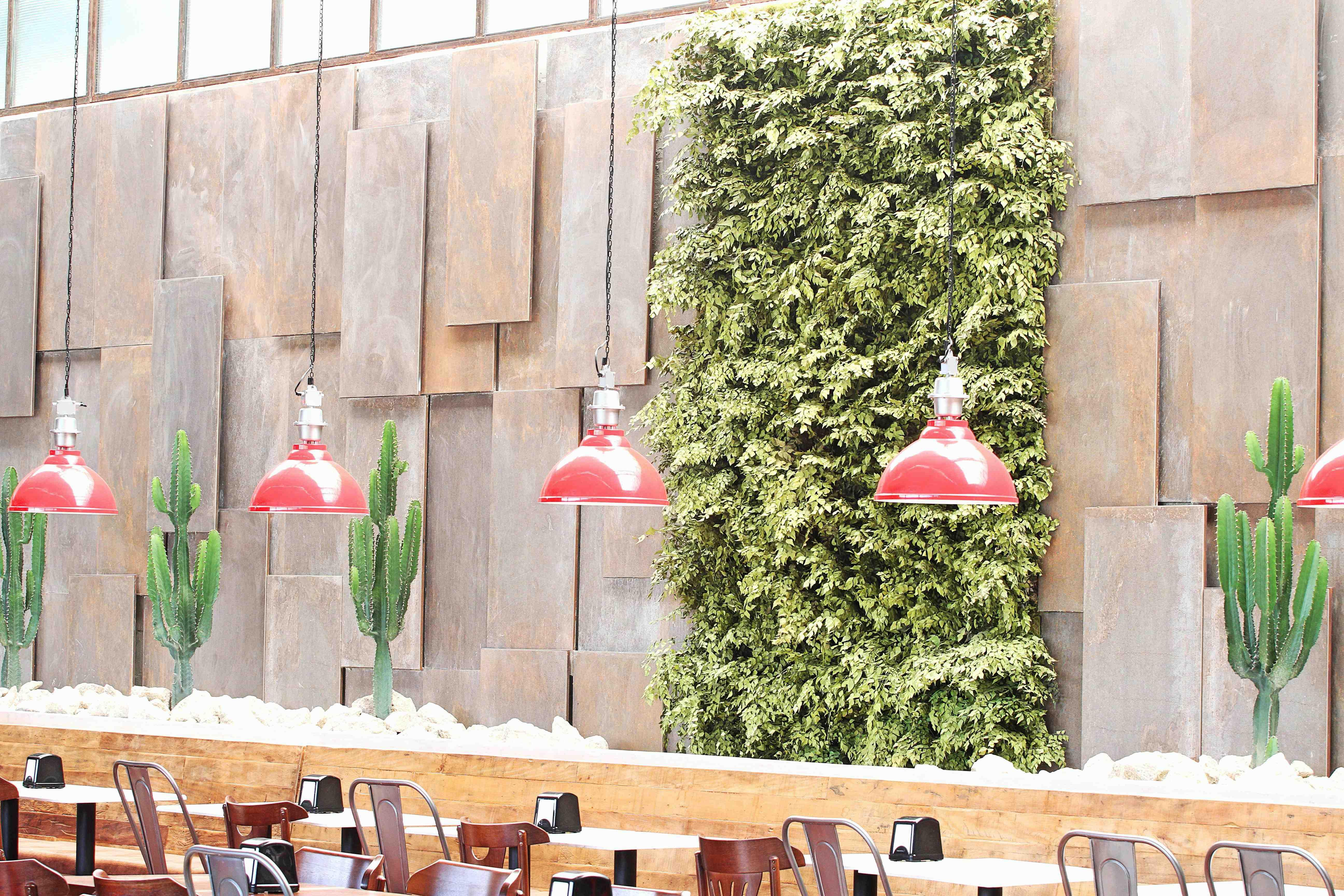 parede verde low