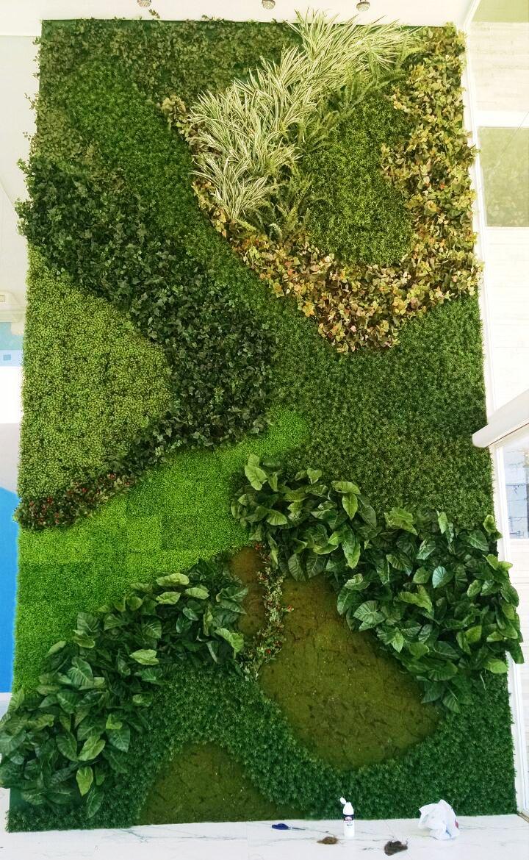 Parede Verde Artificial