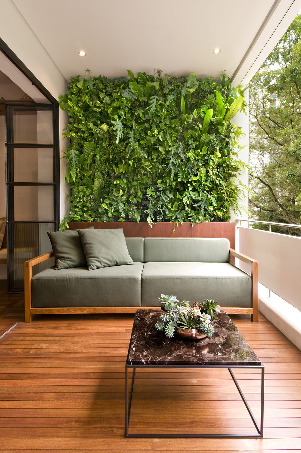 Jardim Vertical em Apartamento - Vertical Garden