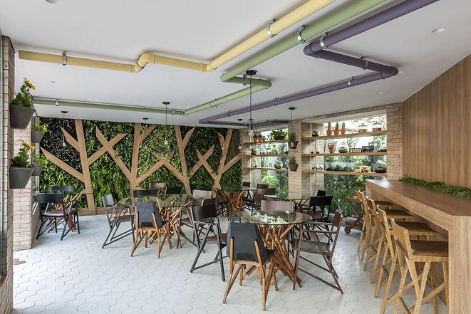 Jardins Verticais para Restaurantes Vertical Garden
