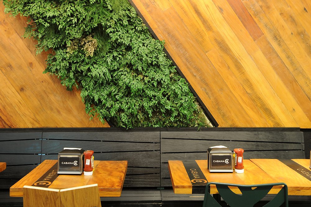 Arquitetura restaurante cabana Burger