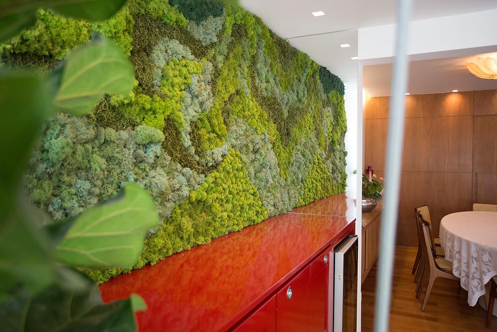 Painel Verde Apartamento