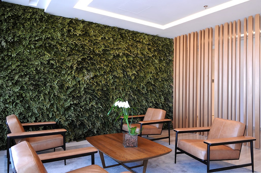 Jardim Vertical em apartamento - Interior