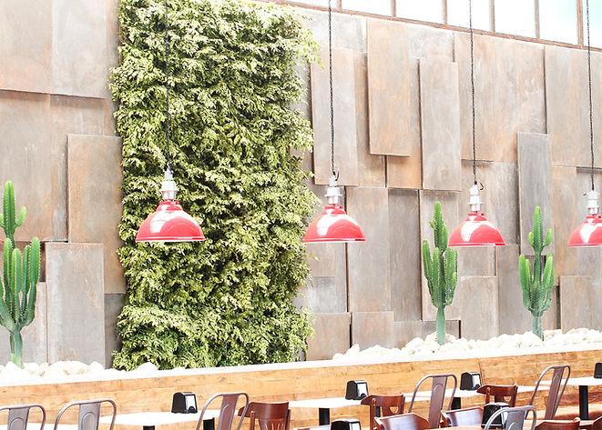 Jardins Preservados para Restaurantes Vertical Garden