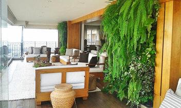 Jardim Vertical Varanda Apartamento