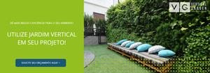 Jardins Verticais e Parede Verde