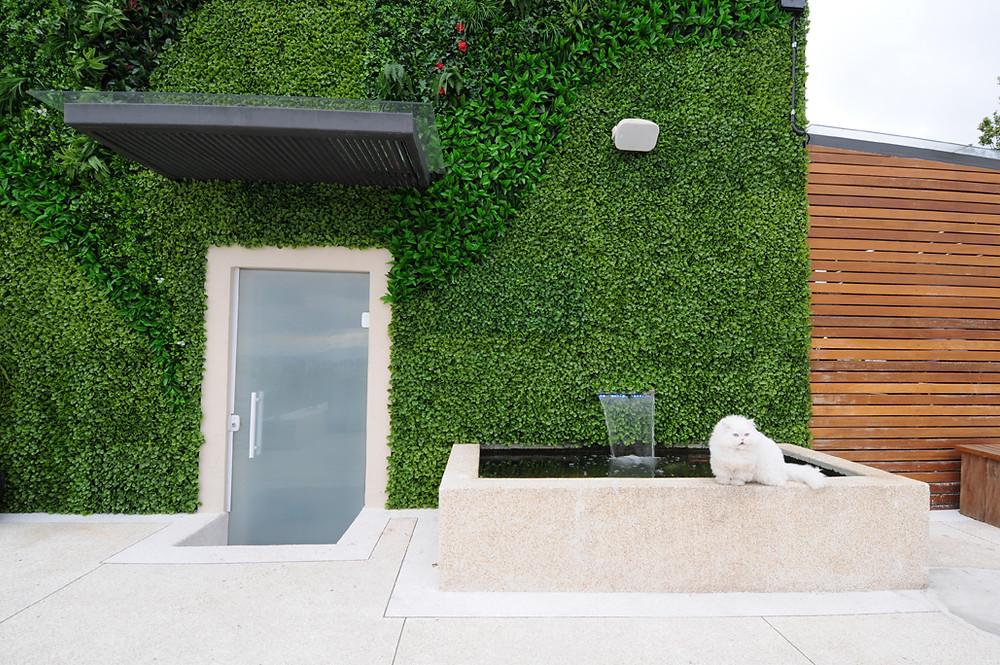 Jardim Vertical Artificial Fachada